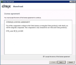 install store front LICENSE AGREEMENT