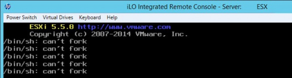 Launch iLO